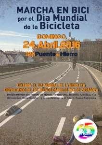 Marcha ciclista Pedalea Zaragoza