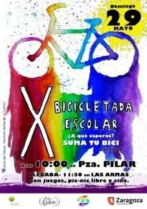 Bicicletada escolar 2016