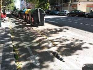 Mejoras en visibilidad, con aparcamiento para motos