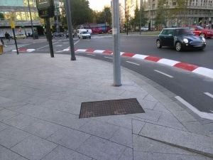 Carril bici Paseo Independencia