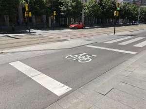 Zonas de espera avanzada para bicicletas