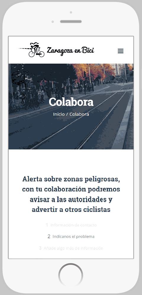 Denuncias ciclistas