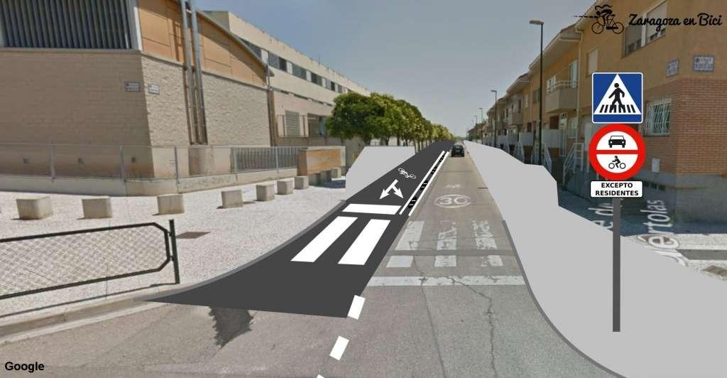 Calle Julián Serrano Puértolas