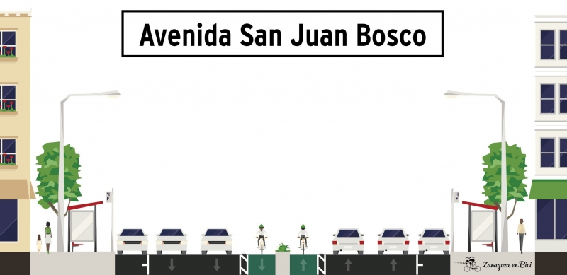 Carril bici San Juan Bosco