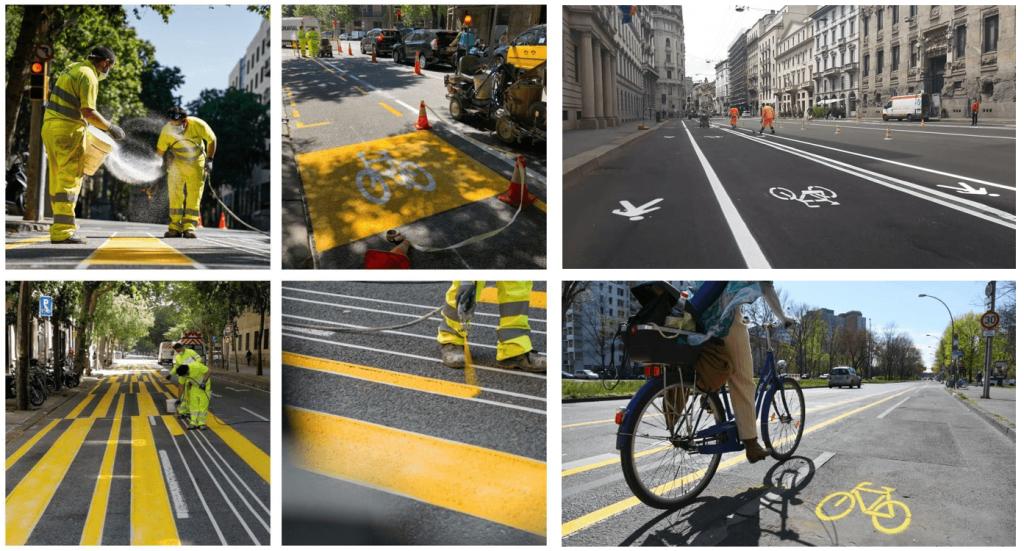 Infraestructuras ciclistas COVID-19